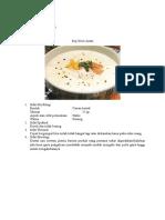 Sup Krim Ayam