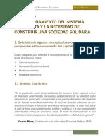Montoya. Manual de Economía Solidaria. Capítulo 1
