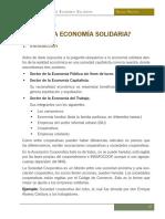 Montoya. Manual de Economía Solidaria. Capítulo 3