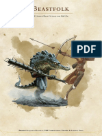 Beastfolk a Race for D&D 5e (9986465)
