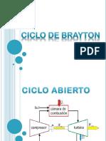 Ciclo Brayton (Ideeal)