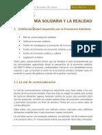 Montoya. Manual de Economía Solidaria. Capítulo 5