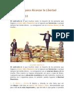 4 Principios Para Alcanzar La Libertad Financiera