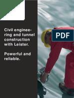 BRO Civil Engineering Tunnel Construction STT Dv122005 ENG