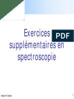 Exer Spectro Suppl Et Corrige (1)