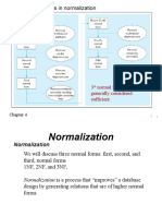 Normailization 1NF 2NF #NF Slides