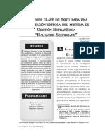 FACTORES CLAVE DE EXITO PARA UNA IMPLANTACIÓN EXITOSA DEL SISTEMA DE GESTIÓN ESTRATÉGICA - BALANCED SCORECARD.pdf