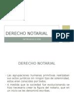 Introduccion al Derecho Notarial