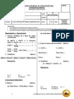 Examen Mensual de Trigonometría (5to) - III Bimestre 5