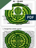 Presentasi Aik Shalat Sunnat