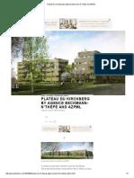 Plateau Du Kirchberg by Agence Beckmann-N'Thépé and AZPML