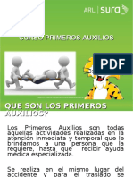 ARL SURA PRIMEROS AUXILIOS -Generalidades-.ppt