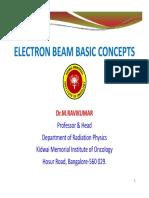6. Electron Beam Basic Concept - Dr. Ravikumar