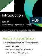 organise meetings assessment 1 bsbadm405a docx educational