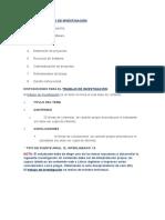 Los Temas Requeridos Proyecto Integrador II