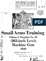 Lewis Gun Small Arms Training Volume I. Pamphlet No. 20 .303-inch Lewis Machine Gun