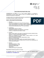 Convocatoria Practicante Sdf 2015