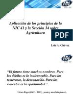 Aplicando Las NIIF -Agricultura_LChavez