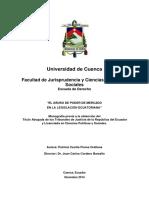 El Abuso de Poder de Mercado en La Legislacion Ecuatoriana Final