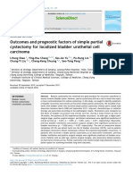 Outcomes and Prognostic Factors of Simple Partial Cystectomy for Localized Bladder Urothelial Cell Carcinoma