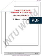 AELCS Lab Manual jntuh