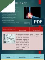 procedimientos- test de pie y tobillo