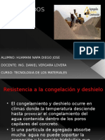 AGREGADOS - CONGELACION