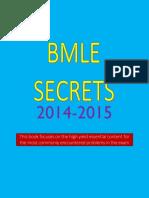 BMLE Secrets