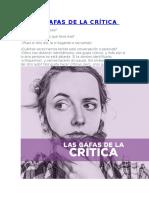 Las Gafas de La Crítica