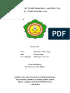 Leaflet Perawatan Luka Post Operasi Dirumah SATUAN ACARA PENYULUHAN