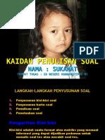 KAIDAH PENULISAN SOAL OK - Copy.ppt