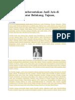Peristiwa Pemberontakan Andi Azis Di Makassar