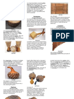 AFRICAN MUSICAL INSTRUMENTS brochure.doc
