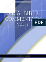 SDA Bible Commentary, Vol. 7 (EGW)