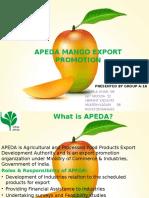 Mango Export Business in India - APEDA