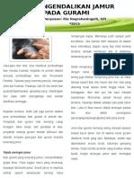 Leaflet Mengendalikan Jamur Pd Gurami