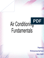 Fundamentals Of Air Conditioning system