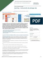 Tableau de Bord Et Reporting _ Instruments de Pilotage Des Managers