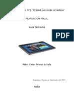 Planeacion Anual 2014-2015