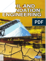 Soil and Foundation Engineerings