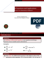 06 Differential Equations - Handout