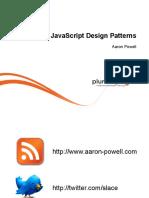 1 Javascript Design Patterns m0 Common Slides