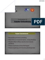 10. Gejala Gelombang (MP)