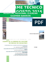 Informe Técnico Agosto 2016