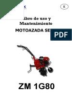 Manual Uso Motoazada Zomax Zm 1g80 Agricolablasco