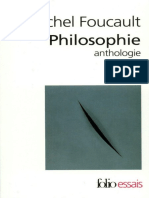 Michel Foucault - Philosophie (Anthologie)