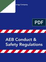 Aeb Conduct Safety Regulations Gb