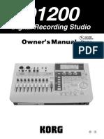 D1200 MD1200 Manual