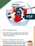 Susu Fermentasi (Yoghurt, Kefir, Dan