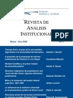 Ravier, Adrián - 2009 - Richard Cantillon y el primer tratado de economía política - RAI No. 3
